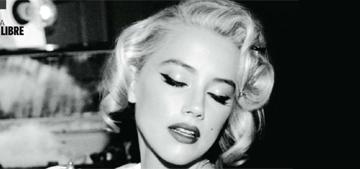 Amber Heard channels Marilyn Monroe in new shoot: does she pull it off?