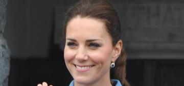 Duchess Kate wears Alexander McQueen, Jenny Packham in NZ: gorgeous?