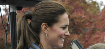 Duchess Kate's $3875 McQueen dress was sneezed on by a peasant baby