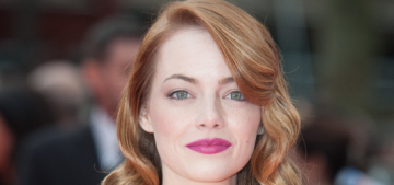 Emma Stone in yellow Versace at UK 'Spider-Man' premiere: lovely or tragic?