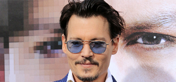 Johnny Depp wants babies: 'Practicing for it is fun. Man, I'd make a hundred.'