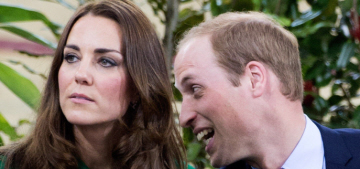 Duchess Kate in a green Erdem coat in New Zealand: gorgeous or unflattering?