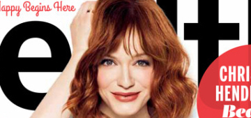 Christina Hendricks 'decided that we are not really interested in having children'