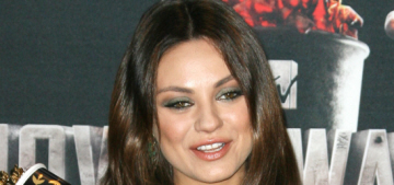 Mila Kunis hides her bump in a Thakoon LBD at MTV Movie Awards: cute?