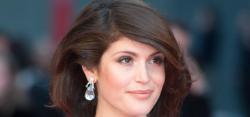 Gemma Arterton in pale blue Prada at the Olivier Awards: flawless or fug?