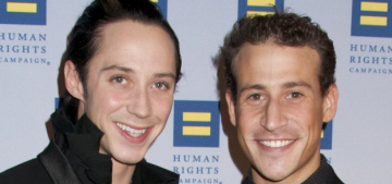 Johnny Weir & his husband reconcile after accusations of domestic abuse