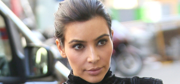 Kim Kardashian wears awful clothes, scouts wedding venues in Paris