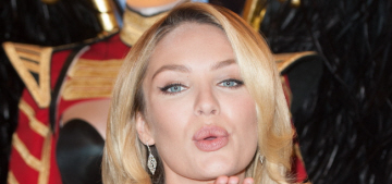Candice Swanepoel makes an effort to put on weight before runway shows