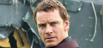 """Michael Fassbender rips up a baseball stadium in new 'X-Men' trailer"" links"