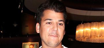 Did Rob Kardashian go to rehab for depression & substance abuse?