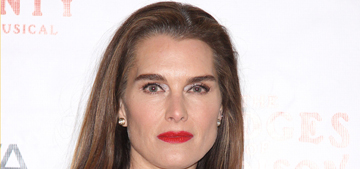 Brooke Shields gained 10 lbs following knee injury, couldn't care less