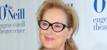 Meryl Streep's advice to young women: 'Don't worry so much about your weight'