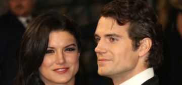 Henry Cavill & Gina Carano are still going strong, they're in Chicago together