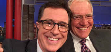 Stephen Colbert stops by 'The Late Show', drops the 'conservative' character