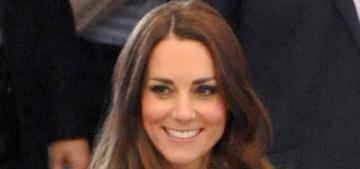 Duchess Kate in a bespoke Catherine Walker coatdress: lovely or tragic?