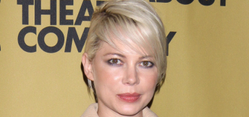 Michelle Williams in Louis Vuitton at the 'Cabaret' opening party: fab or fug?