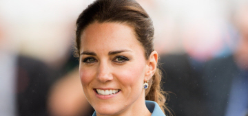 The Queen was not impressed with Duchess Kate's hemlines, hair & wedges