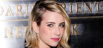 Emma Roberts on James Franco's Instagram scandal: 'It's irrelevant'