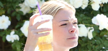 LeAnn Rimes calls the paps, then pretends she doesn't want to be photographed