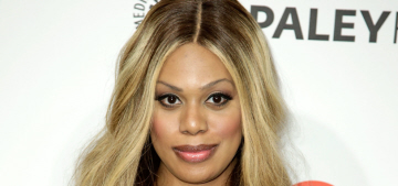 Why was actress/activist Laverne Cox excluded from the Time 100?