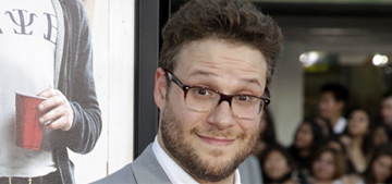 Seth Rogen purposely gained weight to go shirtless next to Zac Efron