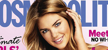 Kate Upton fought with her agents, wants to be 'an example for girls'