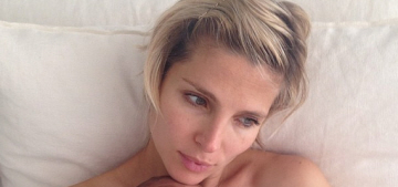 Elsa Pataky posts Instagram pic of one of her 5-week-old twin boys: cute?
