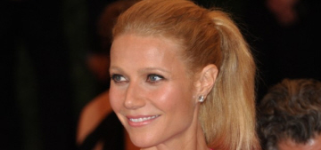 Gwyneth Paltrow confirms she will not deign to attend this year's Met Gala