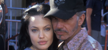 Enquirer: Brad Pitt told Billy Bob Thornton to 'get over' Angelina Jolie