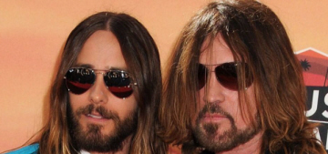Hipster Jesus wept: Jared Leto & Billy Ray Cyrus buddy up at iHeart Radio Awards
