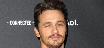 James Franco: Instagram is 'seductive' & I get 'pulled into' the selfie urge