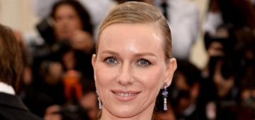 Naomi Watts in ombre Givenchy at the Met Gala: striking or strange?