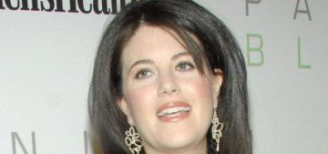 Monica Lewinsky claims her thing with Bill Clinton was 'a consensual relationship'