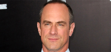 Chris Meloni says his 'perfect' derriere gets him in trouble