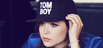 Ellen Page: 'I get more hate about dressing androgynously than about being gay'