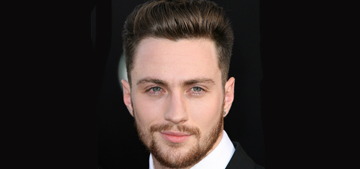 Aaron Taylor-Johnson at the 'Godzilla' LA premiere: would you hit it?