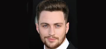 Aaron Taylor-Johnson at the 'Godzilla' LA premiere: would you hit it?