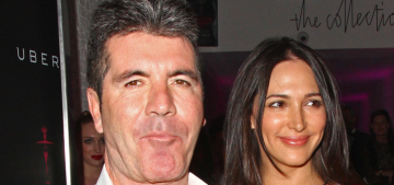 Lauren Silverman claims Simon Cowell 'wants a girl very badly' after son Eric