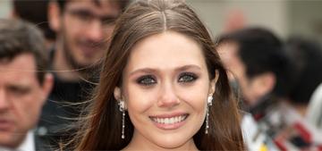 Elizabeth Olsen wears Elie Saab in London for 'Godzilla': lovely or cheap?