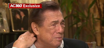 Donald Sterling to Anderson Cooper: 'I don't know why the girl had me say those things'