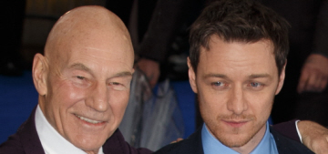 James McAvoy, Fassy, Stewart & McKellen in London: who would you rather?