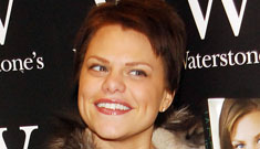 British reality TV star Jade Goody's cancer is terminal, she has only months to live
