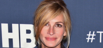 Julia Roberts in Dior at NYC 'Normal Heart' premiere: lovely or unflattering?
