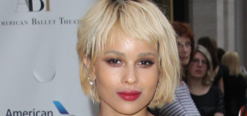 Zoe Kravitz in Lanvin at the Ballet Theater opening: adorable or fug?
