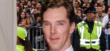 Benedict Cumberbatch & Prince William had a bromance at Windsor Castle