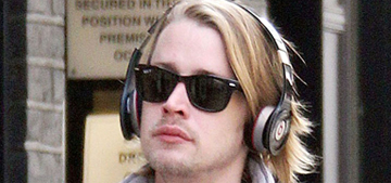 Is Macaulay Culkin 'adopting' newly released 'Party Monster' killer Michael Alig?