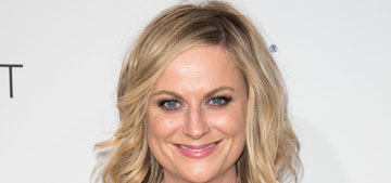 Amy Poehler gave up her first class seat to a mom, charmed everyone in coach