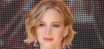 Jennifer Lawrence in belly baring Dior for Cannes 'Mockingjay': adorable or twee?