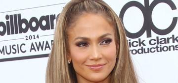 Jennifer Lopez in Donna Karan at the Billboard Music Awards: trashy or hot?