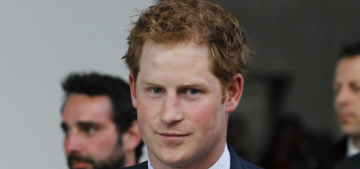 Prince Harry does some royal work in Italy, doesn't seem to be missing Cressida